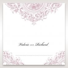Jewelled Elegance wedding venue place card stationery design