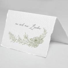 Love Estate wedding table place card design