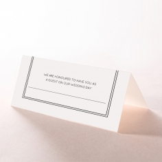 Luxe Paper Elegance wedding table place card