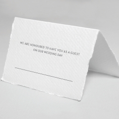 Magenta Wed place card stationery item