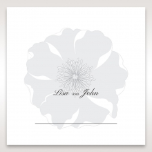 Magical Flower wedding table place card