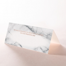 Marble Minimalist wedding stationery table place card item