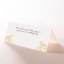 Modern Crest wedding stationery place card item