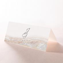 Moonstone wedding place card stationery item