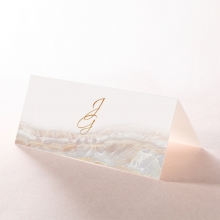 Moonstone wedding stationery place card