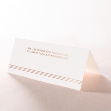 Ornate Luxury reception table place card stationery