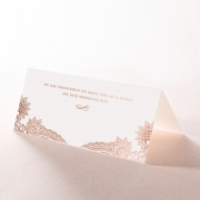 Paisley Grandeur table place card stationery design