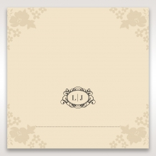 Precious Pearl Pocket reception table place card design