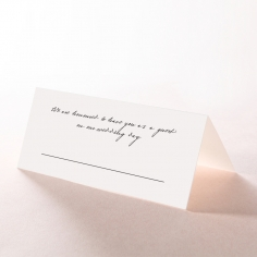 Pure Charm reception place card stationery
