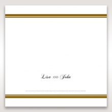 Royal Elegance reception table place card stationery