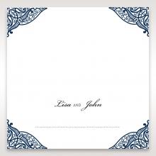 Royal Frame wedding stationery place card item