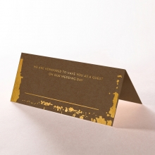 Rusted Charm reception table place card stationery design