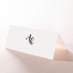 Rustic Lustre wedding stationery place card