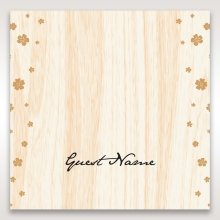 Splendid Laser Cut Scenery wedding table place card stationery item
