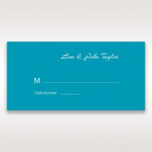 Stylish Laser cut Peacock Feather Digital wedding place card design