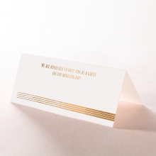 Swept Away wedding stationery table place card