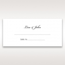 Victorian Charm reception place card stationery item