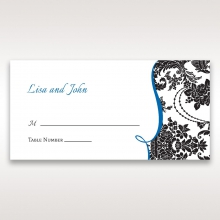 Vintage Glamour reception table place card stationery item