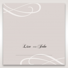 Wedded Bliss table place card stationery