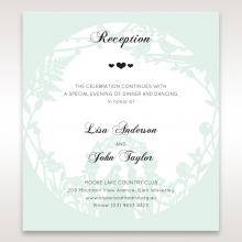 Arch of Love reception invitation