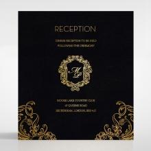 Aristocrat reception invite card