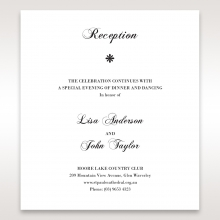 Bouquet of Roses wedding stationery reception enclosure invite card