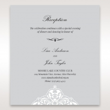 Elegance Encapsulated reception enclosure card