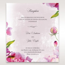 Enchanting Forest 3D Pocket wedding reception enclosure card