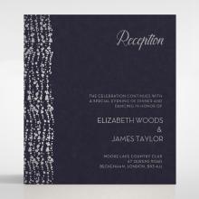 Enchanting Halo wedding reception enclosure card design