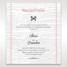 Eternity reception enclosure stationery card design