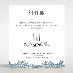 Forest Love wedding stationery reception invite card