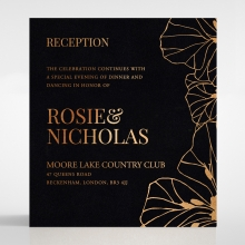 Grand Flora reception invite card
