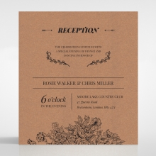 Hand Delivery reception card