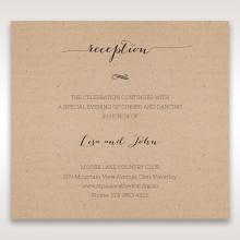 Laser Cut Doily Delight reception enclosure invite card design