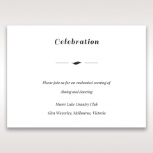 Lovely Lillies reception invite