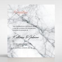 Marble Minimalist reception card