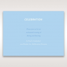 Personalised Love wedding reception invitation card