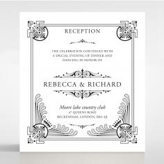 Regal Frame wedding stationery reception enclosure invite card