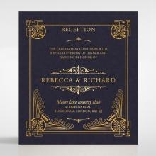 Regal Frame wedding reception enclosure card design
