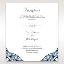 Royal Frame reception wedding invite card design