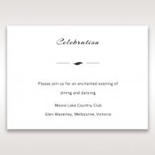 Stylish Laser cut Peacock Feather wedding stationery reception enclosure invite card