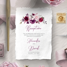 Their Fairy Tale reception stationery