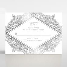 Ace of Spades rsvp card design