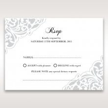 An Elegant Beginning rsvp wedding enclosure design