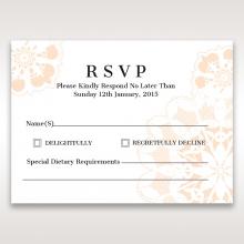 Antique Frame rsvp wedding enclosure card design