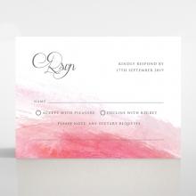 At Sunset rsvp wedding enclosure card