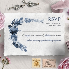 Blissful Union rsvp design