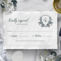 Castle Wedding rsvp wedding card design