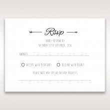 Country Lace Pocket rsvp wedding enclosure card