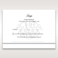 Elegant Seal rsvp card